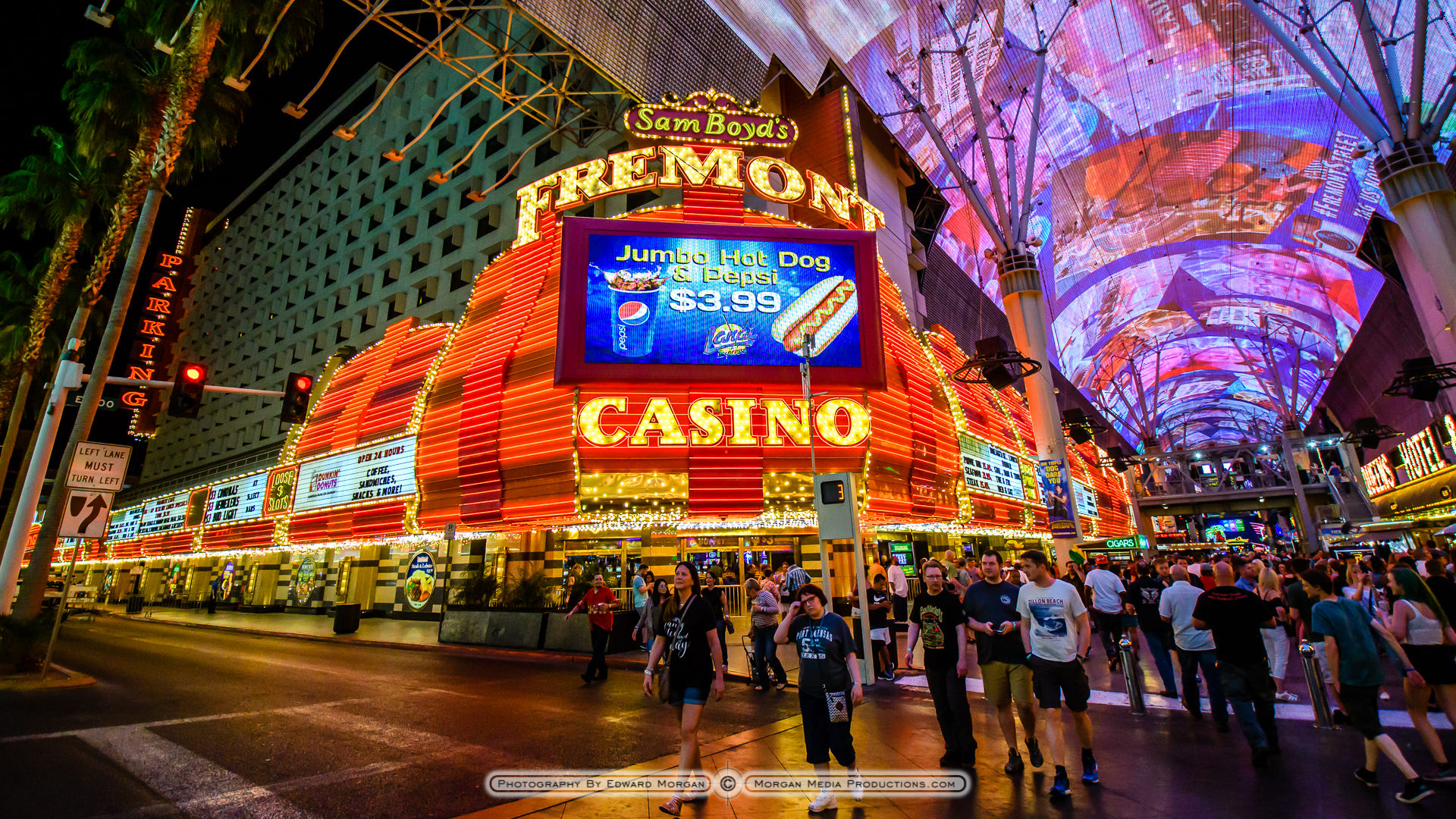 las vegas fremont street photos edward morgan photography. Black Bedroom Furniture Sets. Home Design Ideas